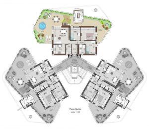 planimetria appartamento 17 piano 5