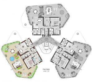 planimetria appartamento 19 piano 6