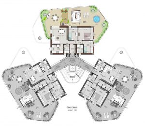 planimetria appartamento 20 piano 6