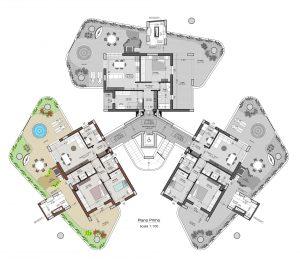 planimetria interno 4 piano 1