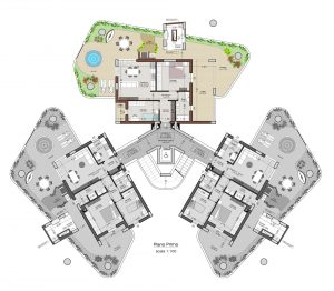 planimetria interno 5 piano 1