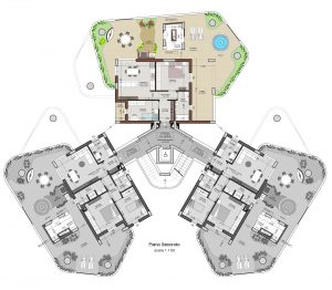 planimetria interno 8 piano 2