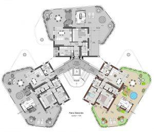 planimetria interno 9 piano 2